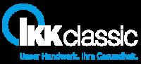 Logo_IKKclassic_mit_Claim_2C_weiss